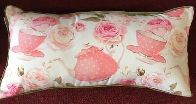 Tea & Roses Cushion 24 x 12