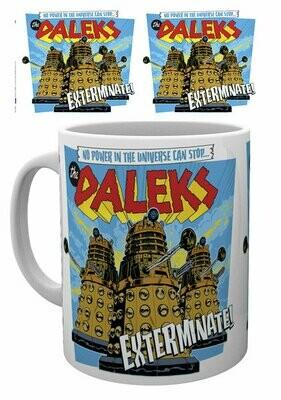 Dr Who Official Dalek Exterminate Mug