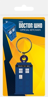 Dr Who Official Keychain