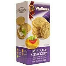 Walkers Mini Oat Crackers 150g