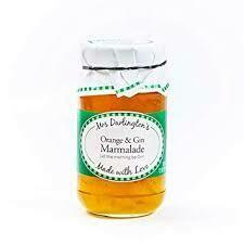 Mrs Darlingtons Orange & Gin Marmalade 340g