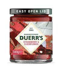 Duerrs Strawberry & Elderflower Conserve 340g