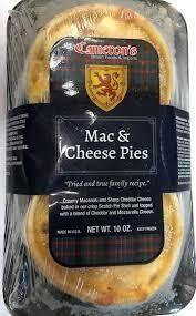 Cameron's Mac & Cheese Pies 2pk