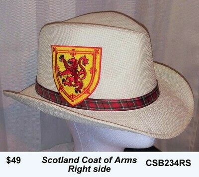 Scotland Coat of Arms Hat CSB234