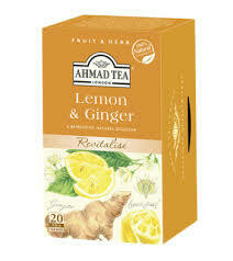 Ahmad Tea Lemon & Ginger 20's