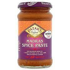 Pataks Madras Spice Paste 283g