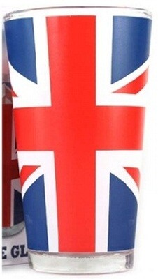 The Union Jack Large Glass (Boxed)