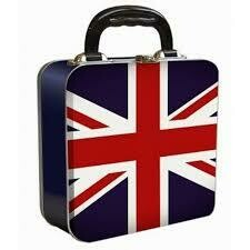 Union Jack Tin Lunch Box