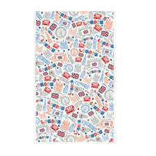 London Doodles Tea Towel