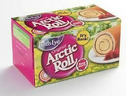 Birds Eye Raspberry Arctic Roll 260g