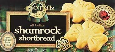 O'Neills Shamrock Shortbread 80g