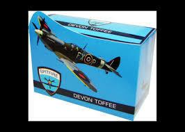 Spitfire Devon Toffee Carton 140g