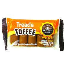 Walkers Toffee Bar Treacle 100g
