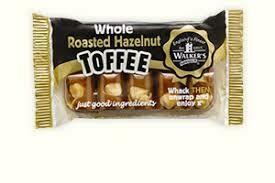 Walkers Toffee Bar Roasted Hazlenut 100g