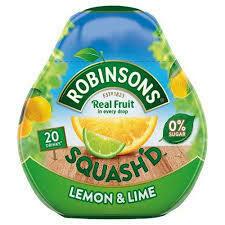 Robinson's Squash'd Lemon Lime 66ml