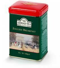 Ahmad English Breakfast Loose Tea Tin 200g
