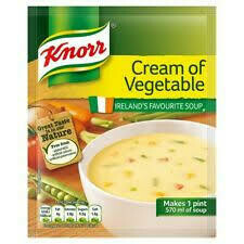 Knorr Cream Of Vegetable Soup Mix 44g