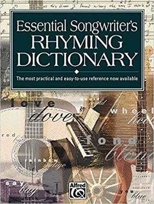Essential Songwriter's Rhyming Dictionary: Pocket Size Book - Paperback