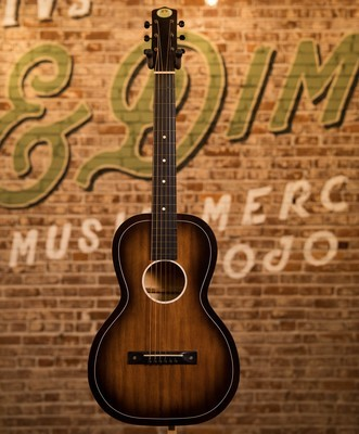 1942 Regal Parlor Acoustic Sunburst - Original Case