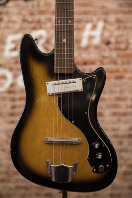 1966 Prestige Teisco One Pickup MIJ Electric Guitar (Sunburst)