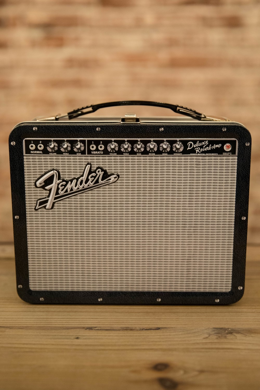 Fender Amp Large Tin Fun Box