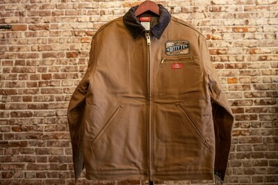 Mens Dickie Duck Lined Jacket - Brown
