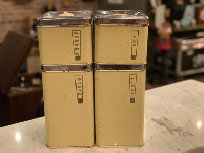 Mid Century Modern Kitchen Canisters