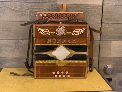 1968 Hohner Accordion