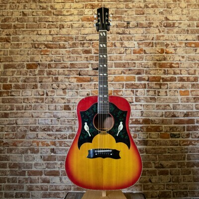 1974 Dove Sunburst Guitar