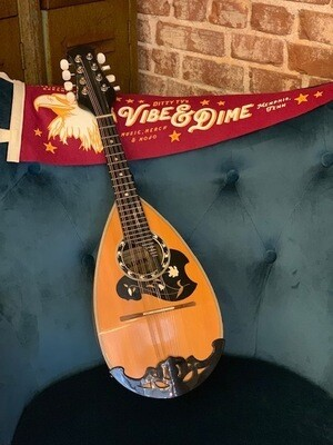 1977 Dixon 808 Maple Bowlback Mandolin