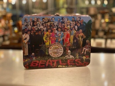 The Beatles - Sgt. Pepper's Tin Lunch Box 9 x 8in