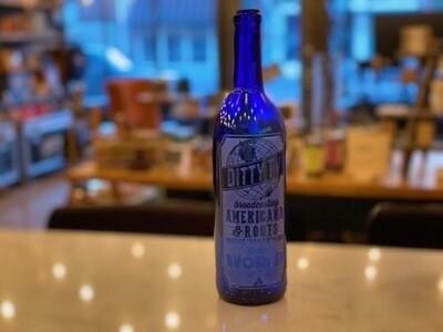 DittyTV Wine Bottle--Blue