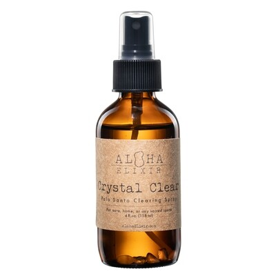 Crystal Clear Palo Santo Clearing Spray