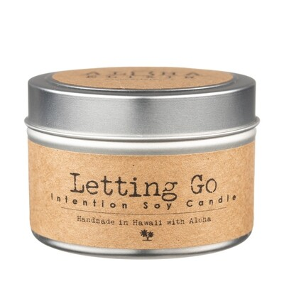 Letting Go Soy Intention Candle
