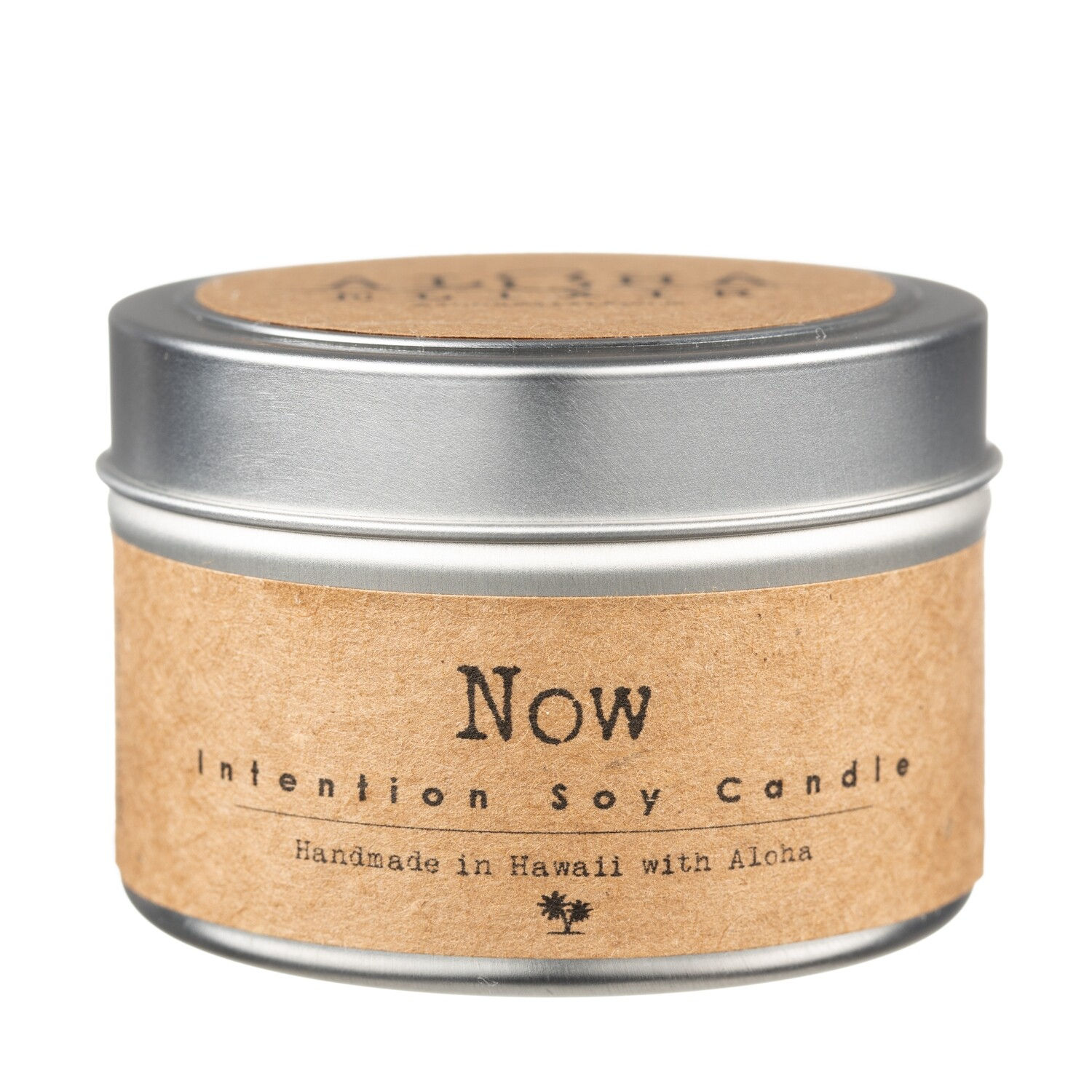 NOW! Soy Intention Candle 4oz. Travel Tin