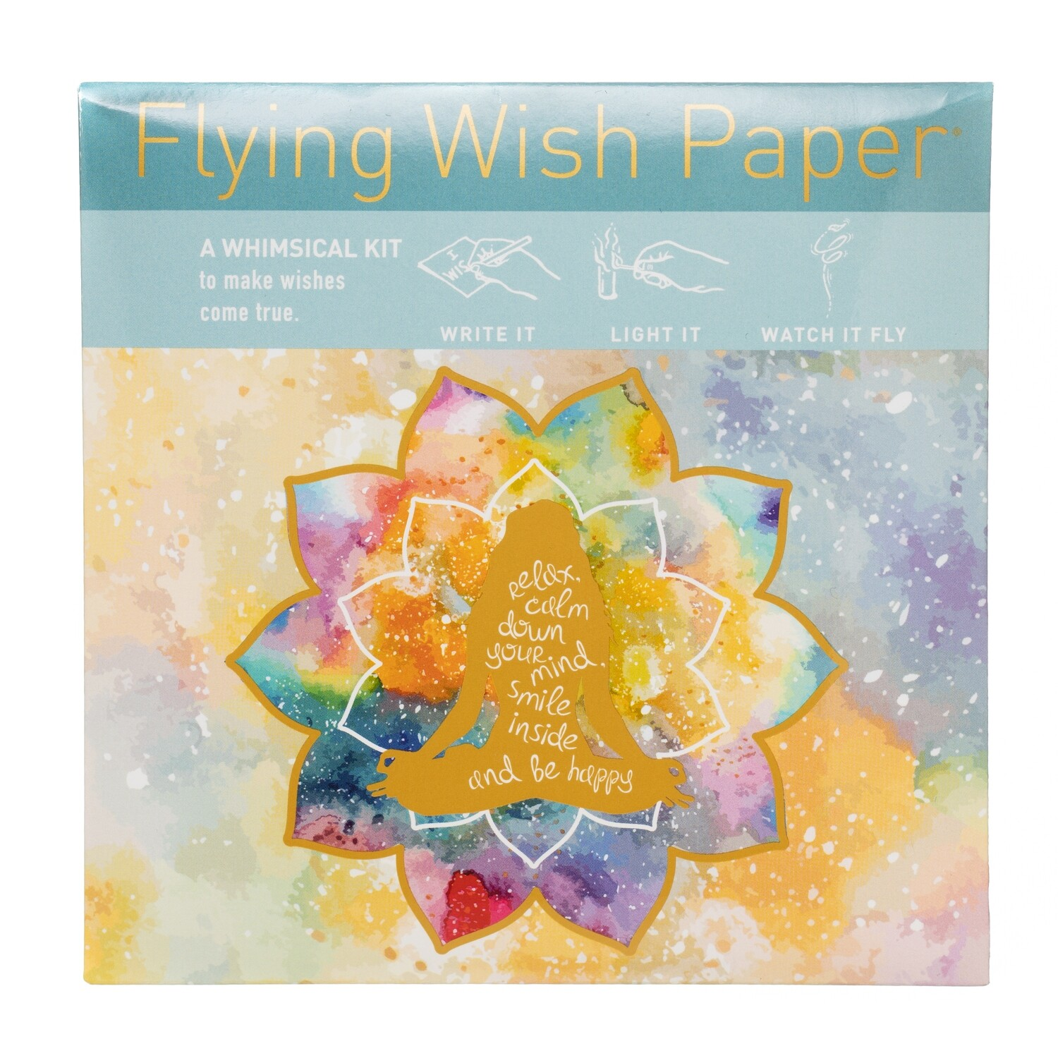 Flying Wishing Paper Mindfulness