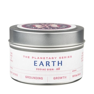 Earth Zodiac Sign: All signs Intention Candle