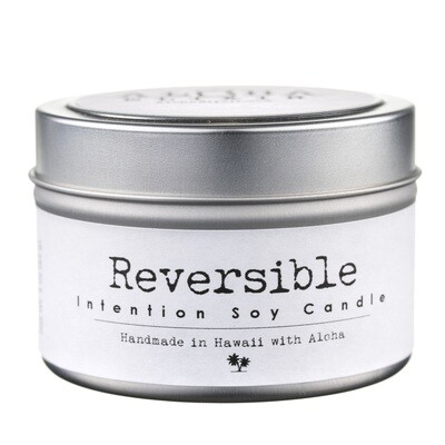 Reversible Soy Intention Candle