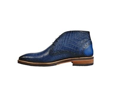 Jenszen schoenen halfhoge leer