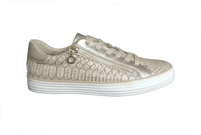 s.oliver glamour dames rits sneakers
