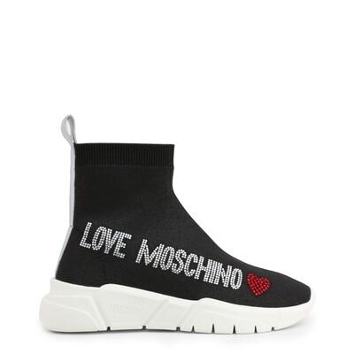 Love Moschino Sock Runner Low Glitter