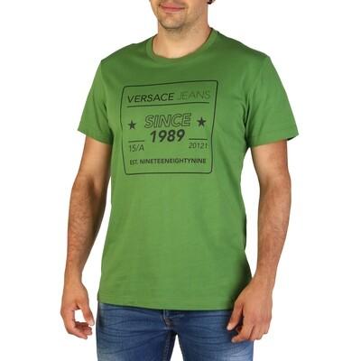 Versace Jeans T shirt in groen