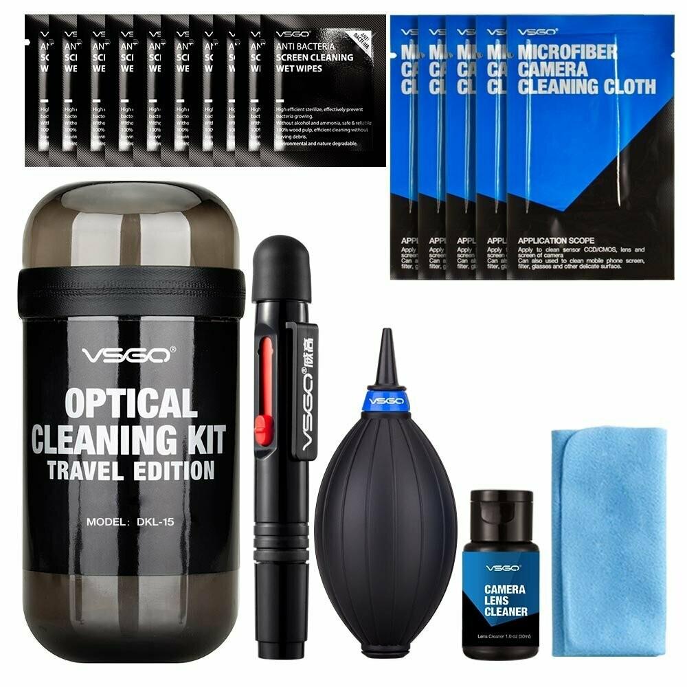 VSGO Travel Camera & Lens Cleaning Kit