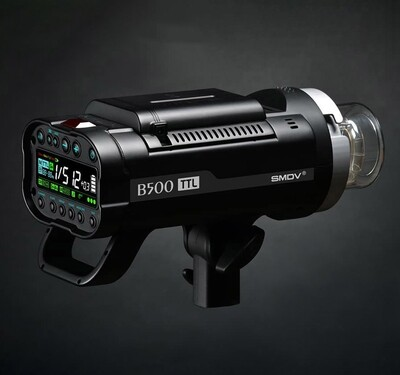 SMDV B500 TTL Battery Powered Flash
