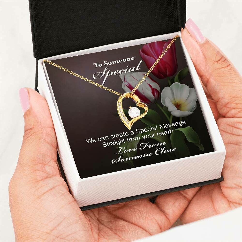 Send A Special Message Card (Forever Love) - Customised Design Service Only