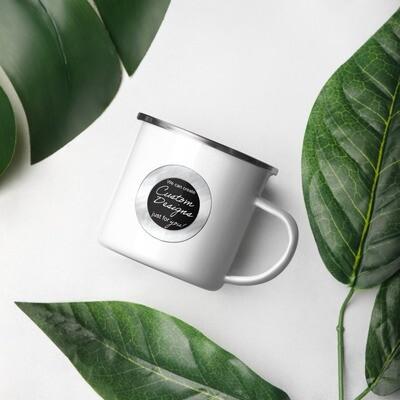 Enamel Mug - Custom Designed
