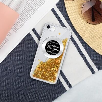 Liquid Glitter Phone Case - Custom Designed