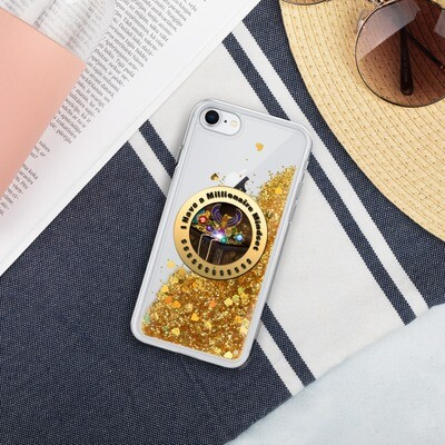 I have a Millionaire Mindset- Liquid Glitter Phone Case