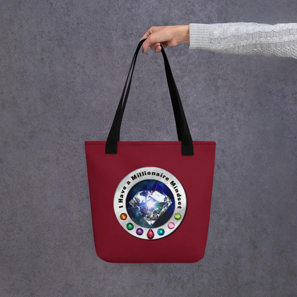 I have a Millionaire Mindset (Diamond) Tote bag