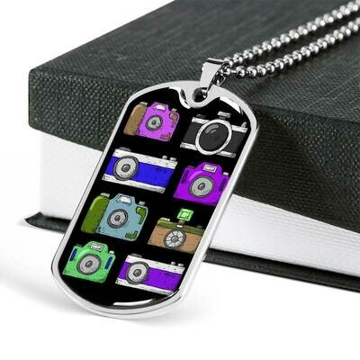 Upload Your Own PERFECT Photo- Military Dog Tag
